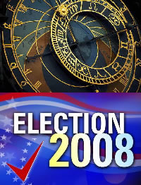 Astrological Predictions Election 2008