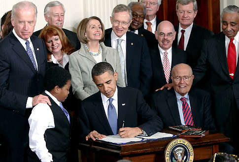 Obama Signing Health Bill