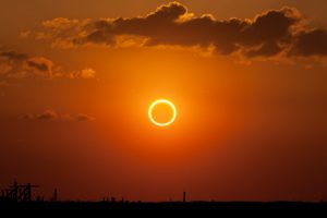 Ring of Fire Annular Eclipse September 1, 2016