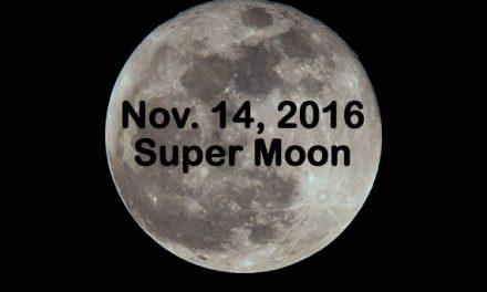 November 2016: Supermoon, Thanksgiving Shakeup
