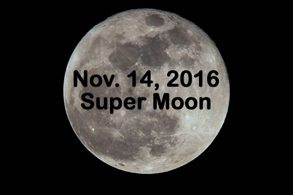 November 2016: Supermoon, Thanksgiving Shakeup