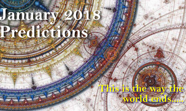 January 2018 Predictions: T. S. Elliot's End of the World