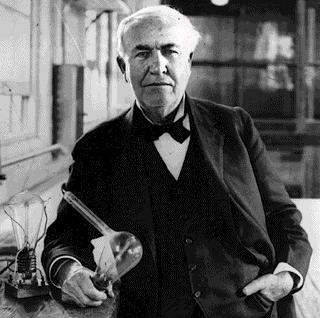 Thomas Edison - Opportunity Comes Dressed in Overalls