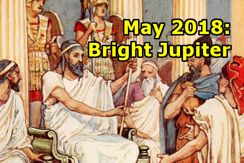 May 2018: Bright Jupiter