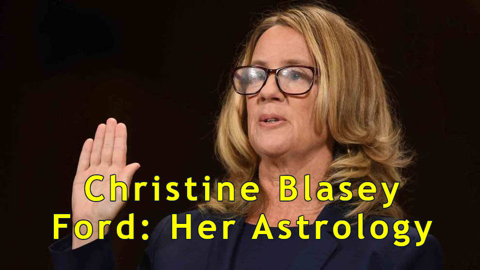 Dr. Christine Blasey Ford Horoscope