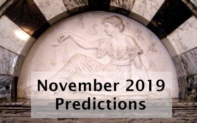 November 2019 Predictions