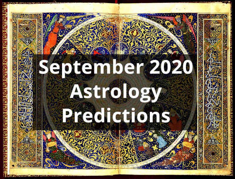 September 2020 Vedic Astrology Predictions