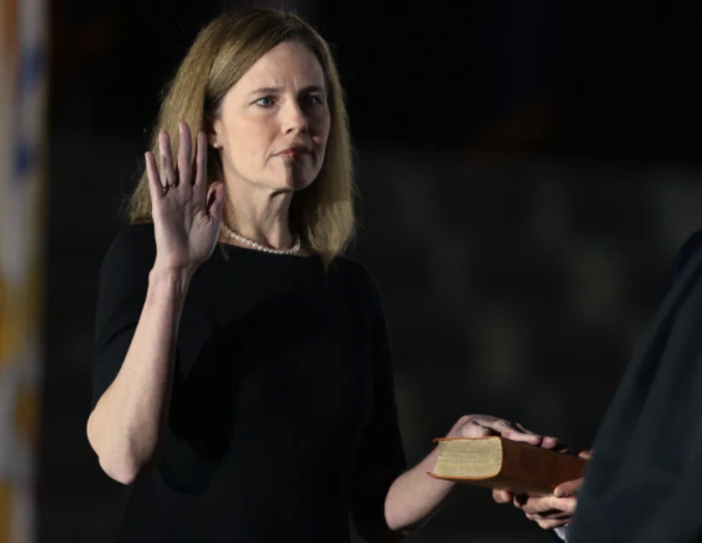 Astrology of Amy Coney Barrett Oath of Office: Ideological Radicalism