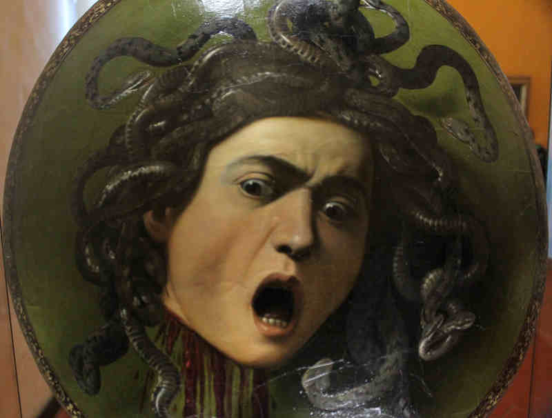 God of War Trips Over Medusa's Severed Head, Bumps into the Seven Sisters