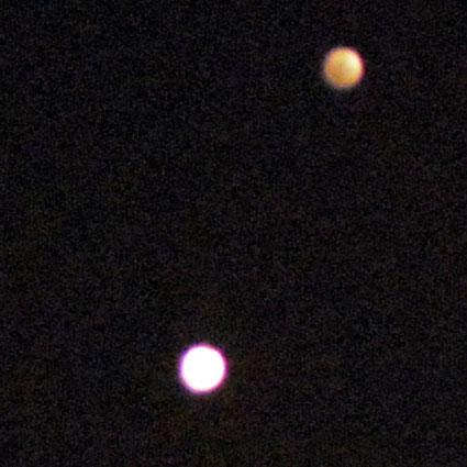 2015 Venus and Jupiter Conjunction