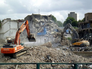 Demolition Uranus and Pluto Wrecking Crew